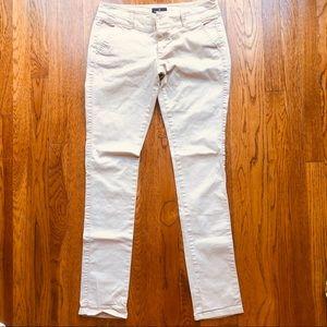🦅 American Eagle long skinny stretch khaki pant